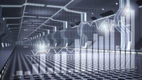 Concetto di affari di tecnologia di Internet Media misti Immagine Stock