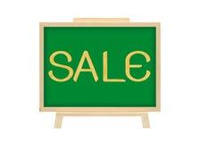 Concetto di affari di vendita della scheda del sughero Immagini Stock Libere da Diritti