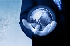 Concetto di affari globali Fotografie Stock