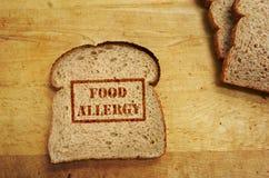 Concetto di allergia alimentare fotografia stock libera da diritti