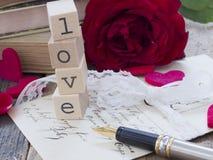 Concetto di amore Fotografie Stock Libere da Diritti