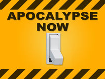 Concetto di Apocalypse Now royalty illustrazione gratis