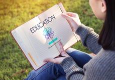 Concetto di apprendimento di intelligenza di comprensione dell'istituto universitario di istruzione Immagine Stock Libera da Diritti