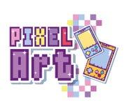 Concetto di arte del pixel illustrazione vettoriale