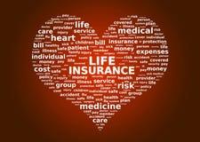Concetto di assicurazione sulla vita fotografia stock