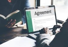 Concetto di associazione di affare di collaborazione di Alliance di accordo Fotografia Stock Libera da Diritti