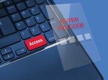 Concetto di attività bancarie online Immagine Stock Libera da Diritti
