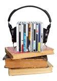 Concetto di Audiobook Fotografia Stock Libera da Diritti