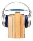 Concetto di Audiobook Immagine Stock