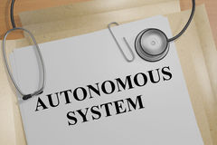 Concetto di Autonomous System royalty illustrazione gratis