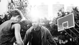 Concetto di Basketball Bounce Sport dell'atleta della vettura immagini stock