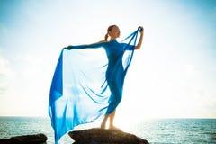 Concetto di bellezza e di libertà Fotografia Stock