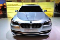 Concetto di BMW berlina di ActiveHybrid di 5 serie Fotografie Stock Libere da Diritti