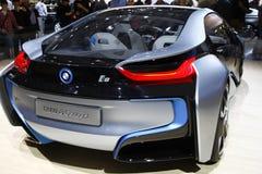 Concetto di BMW i8 Fotografia Stock Libera da Diritti