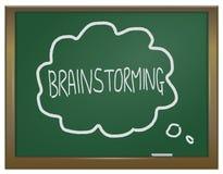 Concetto di 'brainstorming'. Fotografia Stock