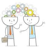 Concetto di 'brainstorming' Immagine Stock