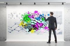 Concetto di 'brainstorming' Fotografie Stock Libere da Diritti