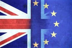 Concetto di Brexit Fotografia Stock