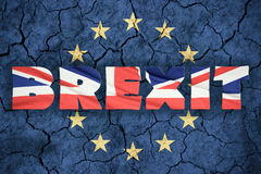 Concetto di Brexit Fotografia Stock Libera da Diritti