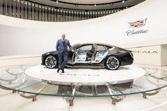 Concetto di Cadillac Escala Immagine Stock