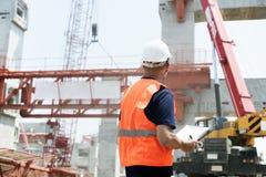 Concetto di carriera di sicurezza della costruzione di architettura primo Immagini Stock