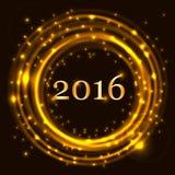 Concetto 2016 di celebrazione del buon anno royalty illustrazione gratis