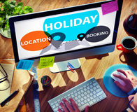 Concetto di celebrazione di felicità di svago di prenotazione di posizione di festa Fotografie Stock