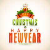 Concetto di celebrazioni di Natale e del nuovo anno Immagine Stock Libera da Diritti