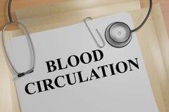 Concetto di circolazione sanguigna royalty illustrazione gratis