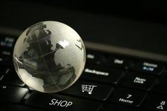 Concetto di commercio elettronico Immagine Stock