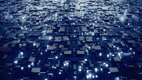 Concetto di computazione di Quantum archivi video