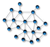 Concetto di comunicazione della rete Immagine Stock Libera da Diritti