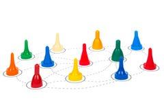 Concetto di comunicazioni della rete sociale Immagine Stock Libera da Diritti