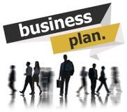 Concetto di conferenza di riunione di strategia di pianificazione del business plan Fotografia Stock Libera da Diritti