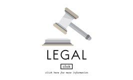 Concetto di conformità di Legal Advice Law dell'avvocato immagini stock