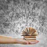 Concetto di conoscenza e di istruzione Fotografia Stock Libera da Diritti