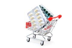 Concetto di consegna di salute Fotografie Stock