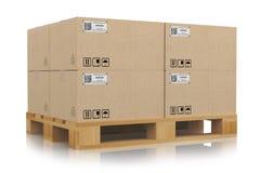 Concetto di consegna e di trasporto Immagine Stock