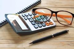Concetto di contabilità Fotografie Stock