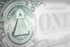 Concetto di cospirazione dei soldi Fotografie Stock Libere da Diritti