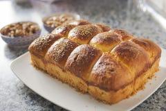 Concetto di cottura dolce della prima colazione domestica fotografie stock