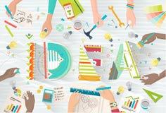 Concetto di coworking illustrazione di stock