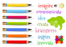 Concetto di creatività Immagini Stock Libere da Diritti