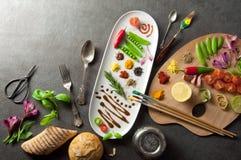 Concetto di creatività dell'alimento fotografia stock libera da diritti
