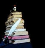 Concetto di creatività letteraria Fotografia Stock