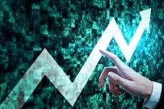 Concetto di crescita e di successo Immagine Stock