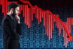 Concetto di crisi Immagine Stock Libera da Diritti