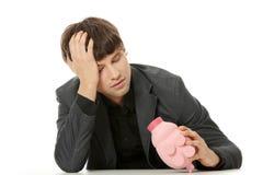 Concetto di crisi di economia Immagine Stock