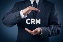 Concetto di Crm Fotografia Stock