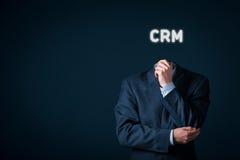 Concetto di Crm Immagine Stock